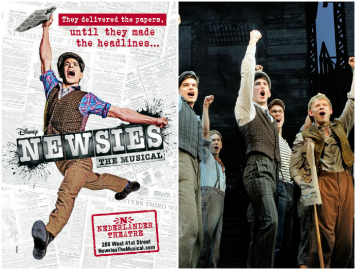 Disney na Broadway - Newsies | Dani Que Disse