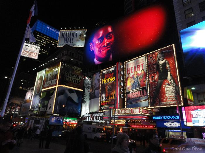 Nova York - Times Square | Dani Que Disse