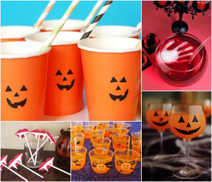 Decoraç u00e3o para o Halloween fácil, rápida e barata Dani Que D -> Decoração Simples De Halloween