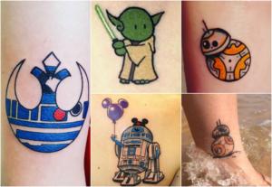 Tatuagens de Star Wars | Dani Que Disse