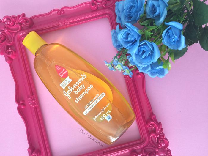 Para que usar o Shampoo Johnson's Baby amarelo? | Dani Que Disse