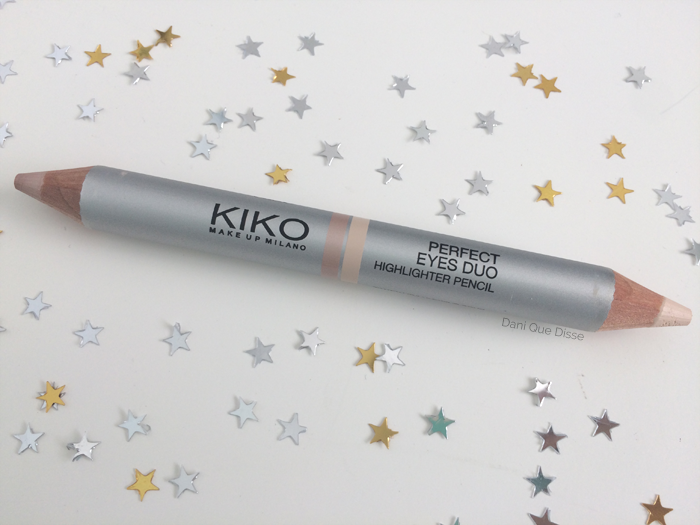 Resenha Kiko Milano Perfect Eyes Duo Highlighter Pencil | Dani Que Disse