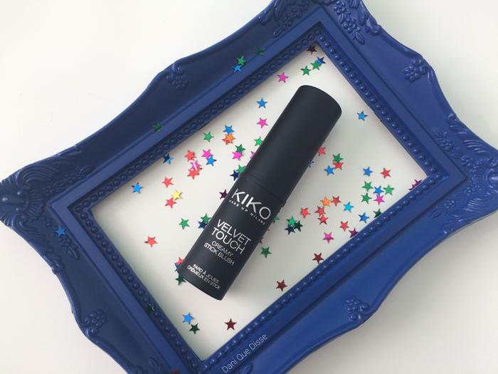 Resenha Kiko Velvet Touch Creamy Stick Blush | Dani Que Disse