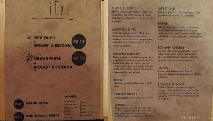 Frites Botafogo - Rio de Janeiro | Dani Que Disse