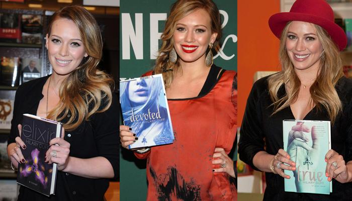 10 famosas que escreveram livros - Hilary Duff