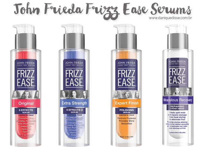 John Frieda Frizz Ease Extra Strength 6 Effects Serum | Dani Que Disse