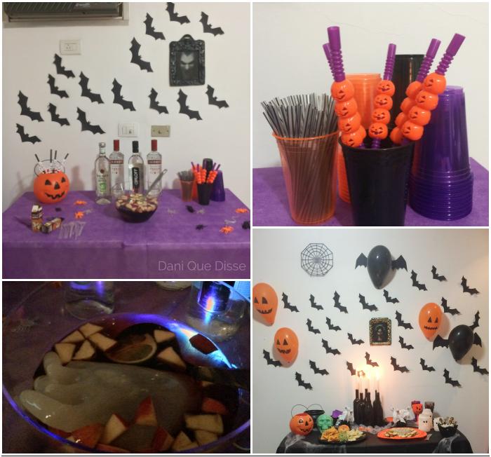 Ideias fáceis para uma festa de Halloween em casa | Dani Que Disse